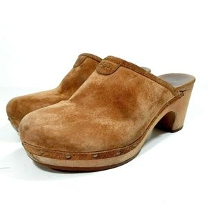 UGG Australia 5772 Abbie Studded Platform Heels Cl